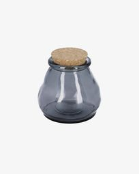 Rohan big blue glass jar