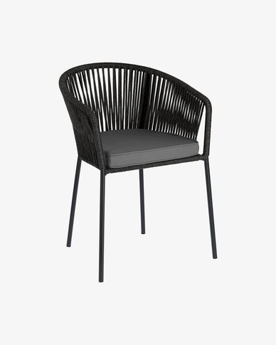 Yanet black chair
