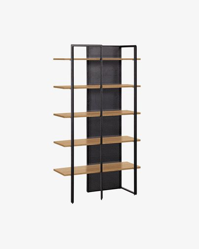 Oak wood Nadyria Shelving Unit 100 x 180 cm