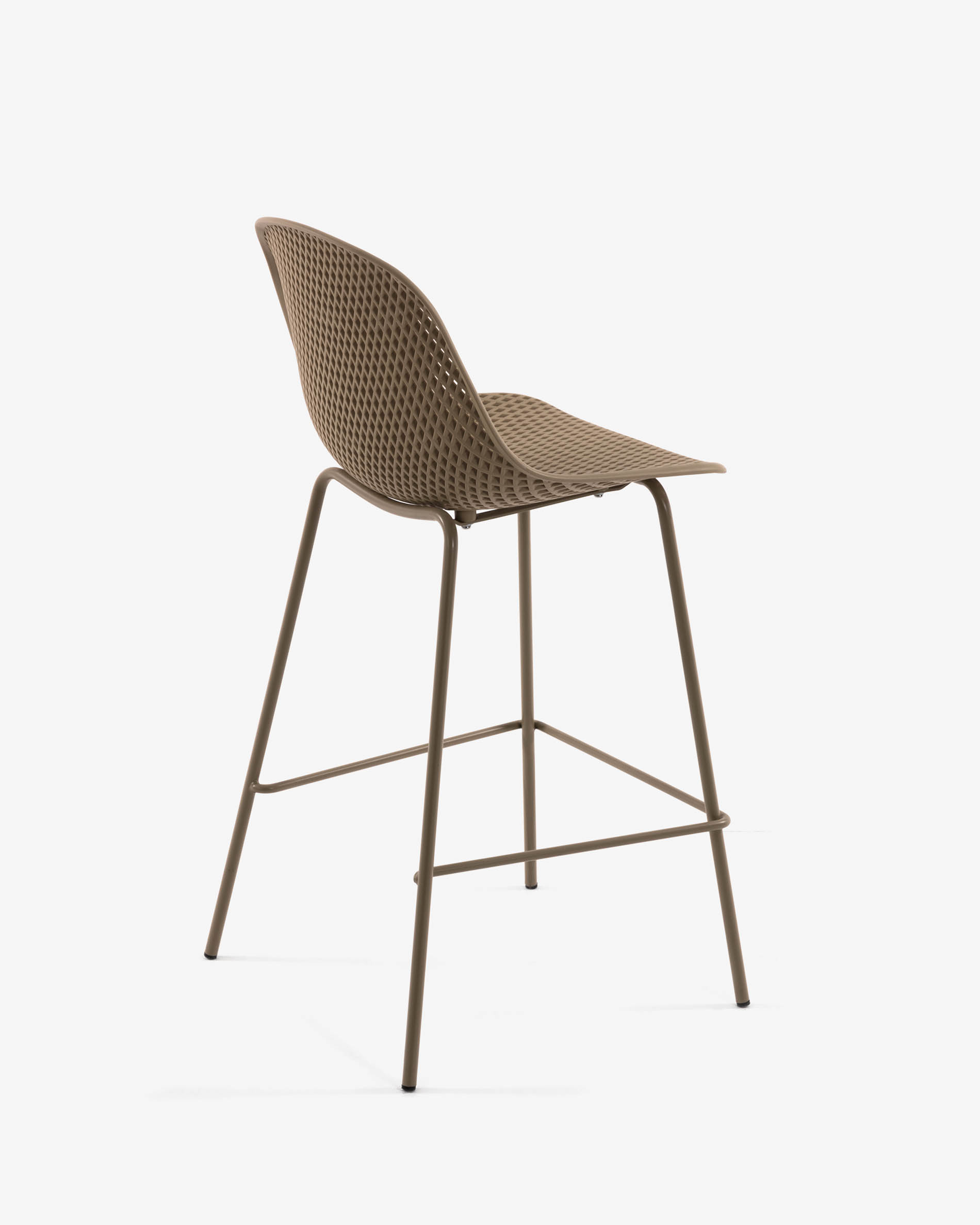 - Beige Quinby Stool Height 75 Cm Kave Home®