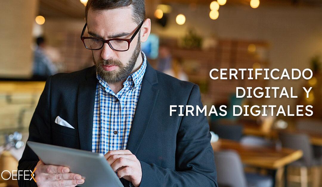 Certificado Digital y firmas digitales