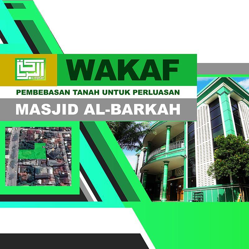 Informasi: Wakaf Pembebasan Tanah Masjid Al-Barkah Cileungsi - 1439 H