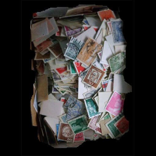250 selos diversos