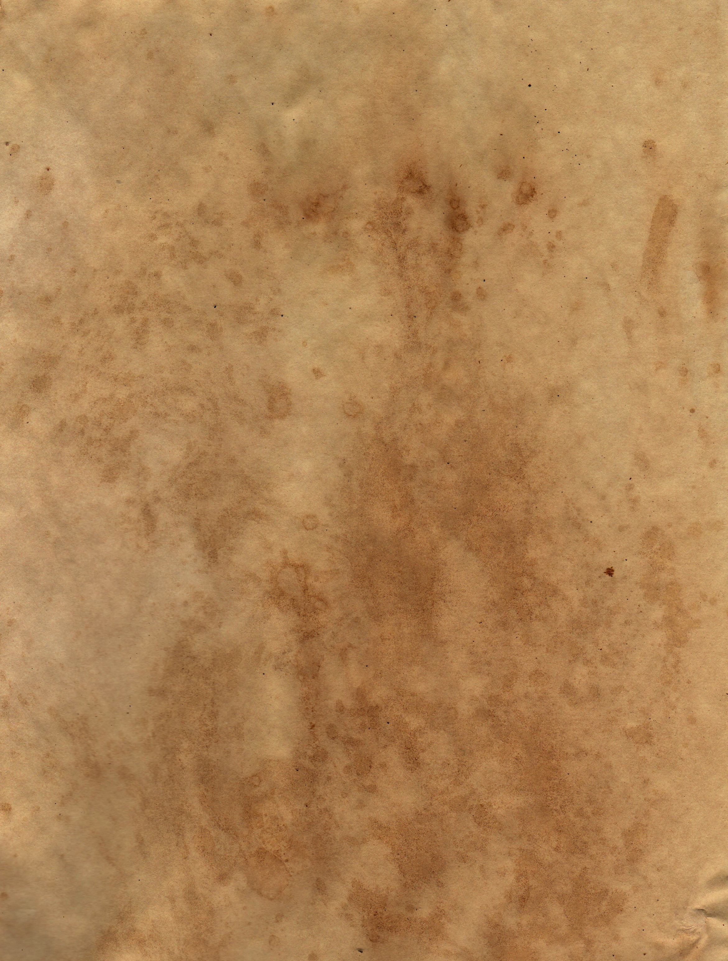 Free Hand Stained Brown Paper Texture Texture LT