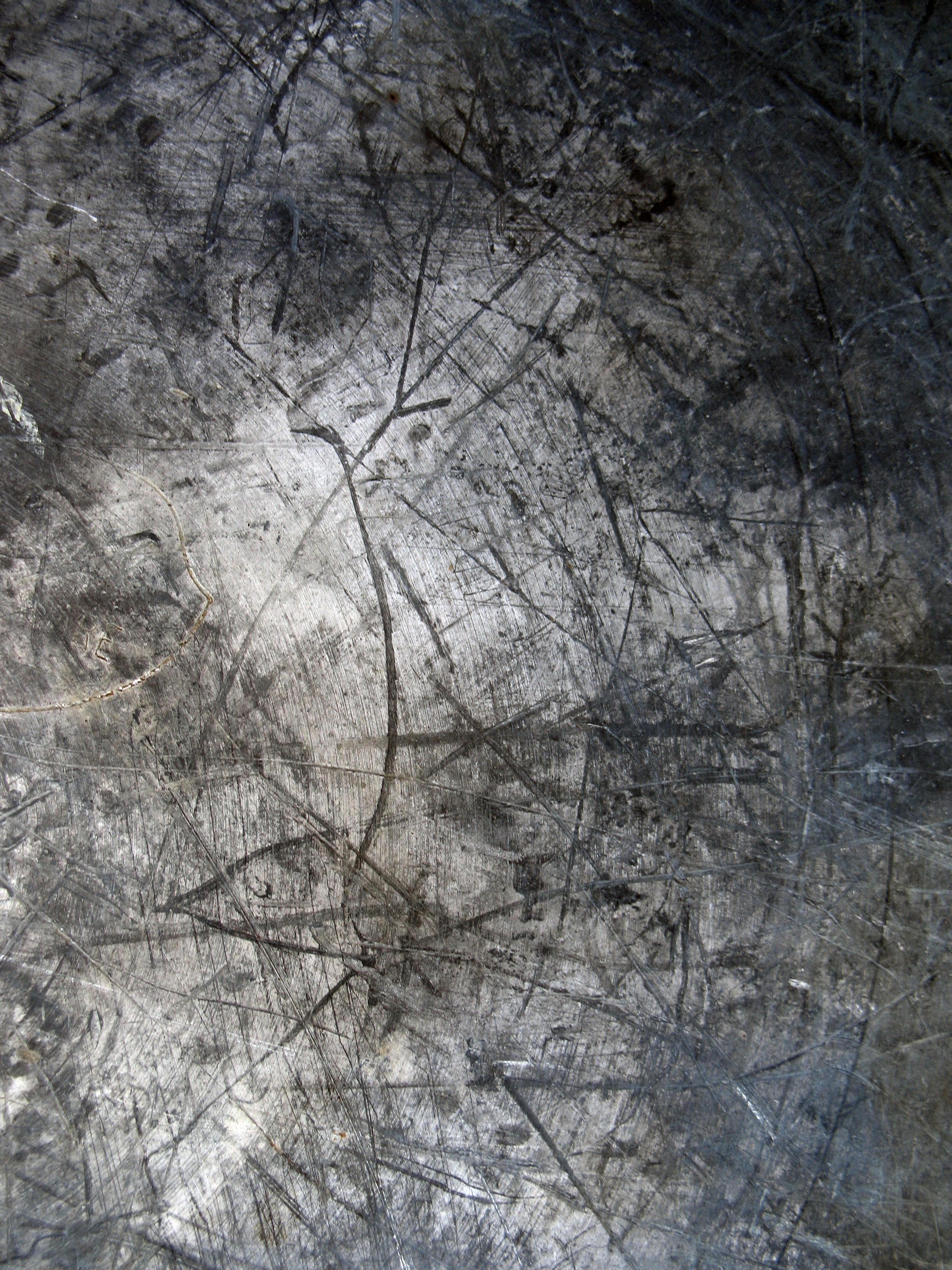 Photoshop Scratched Paint On Metal Texture