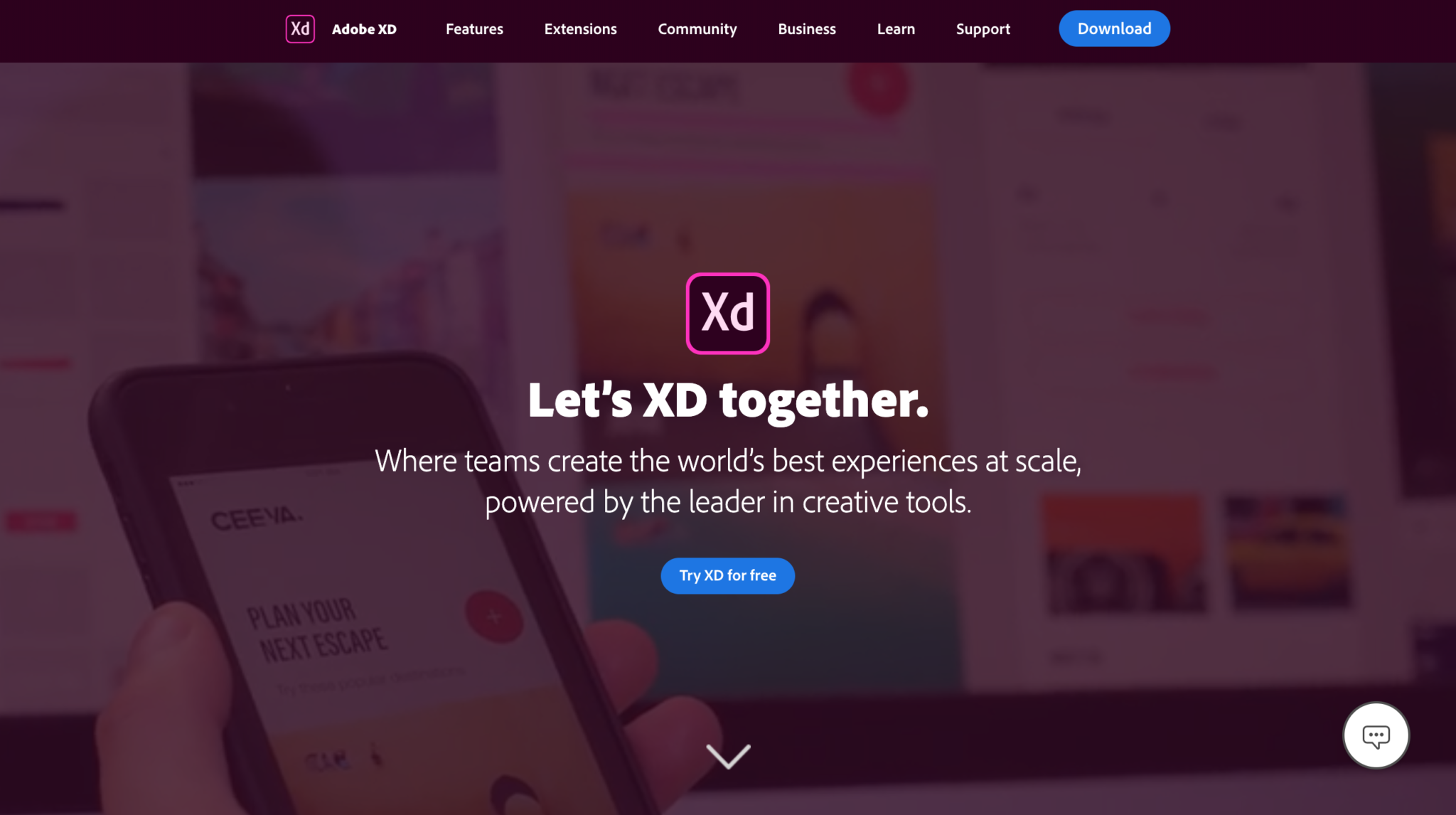 free protoype tool adobe xd