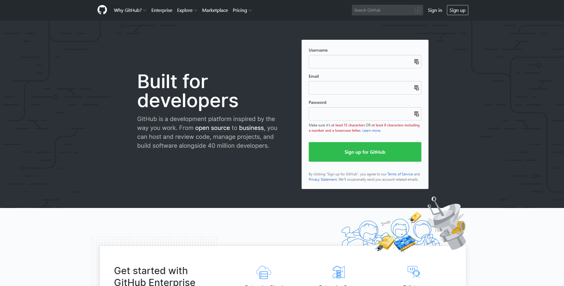 Best developer tools of 2020 gituhub home page