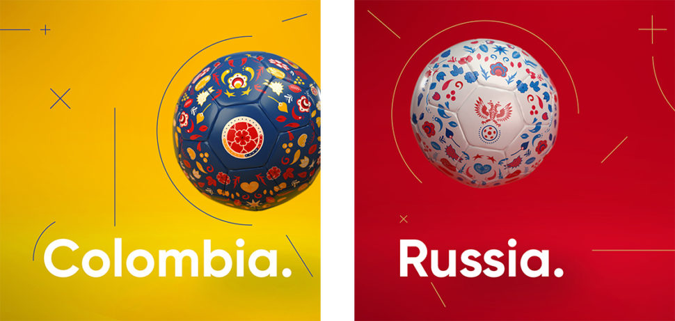 World Cup 2018 Amazing Soccer Ball Designs