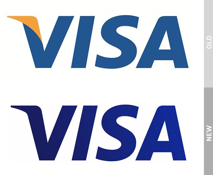 Visa Redesigned Its Iconic Logo For The Digital Age - Visa Logo