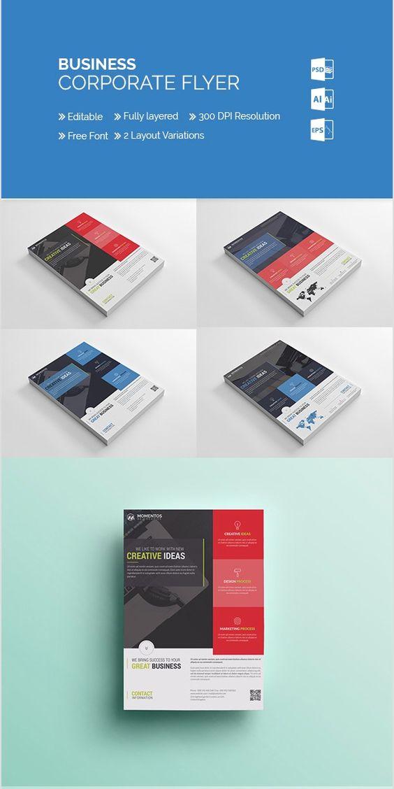 10-MomentStudio Corporate Business Flyer