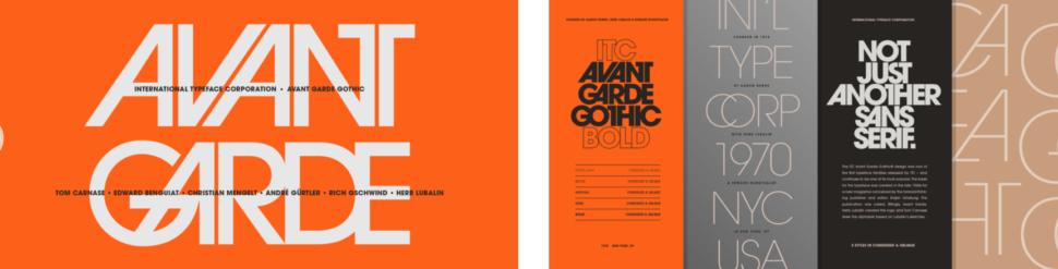 classic fonts