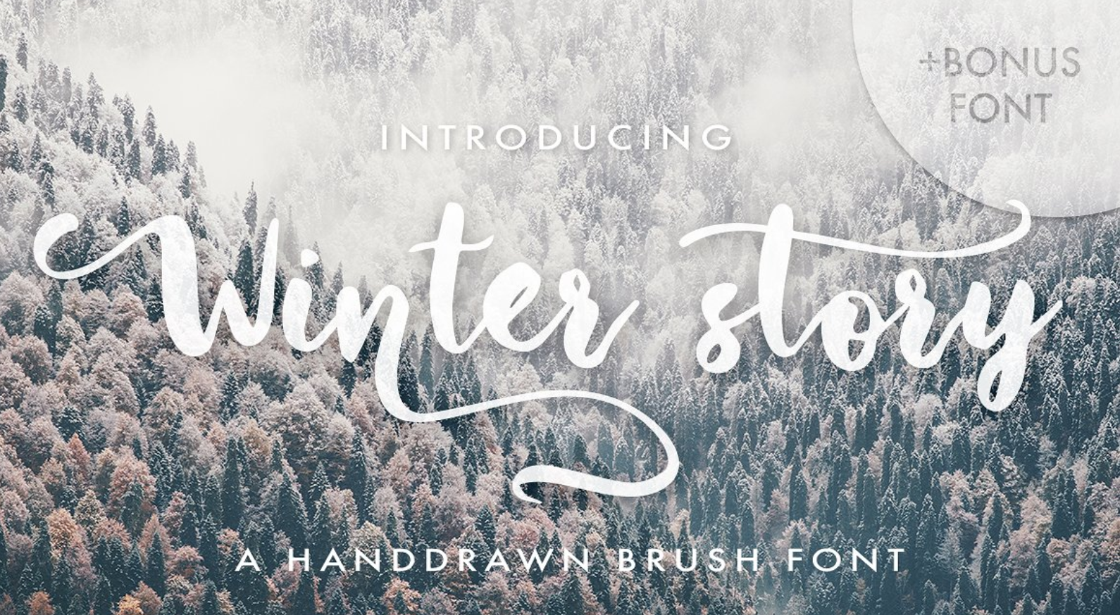 fonts for winter