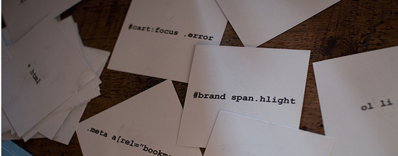 messy CSS styles on cards