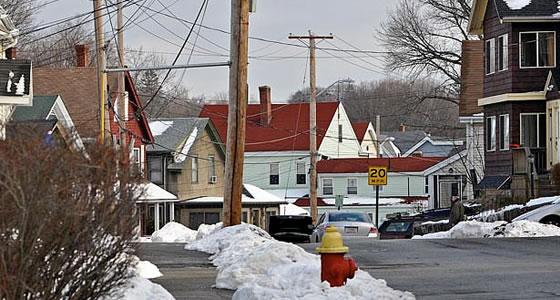 photography in Winter - Massachusetts suburbs