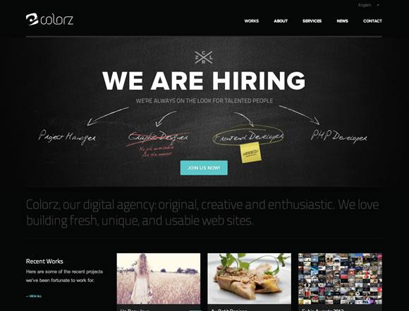Dark Colors in Web Design