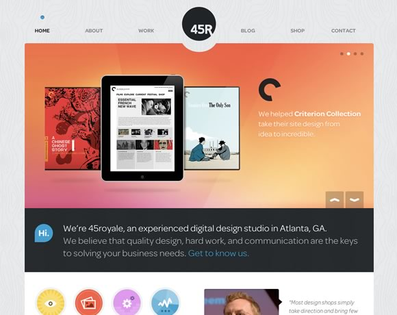 Textures and Patterns in Web Design