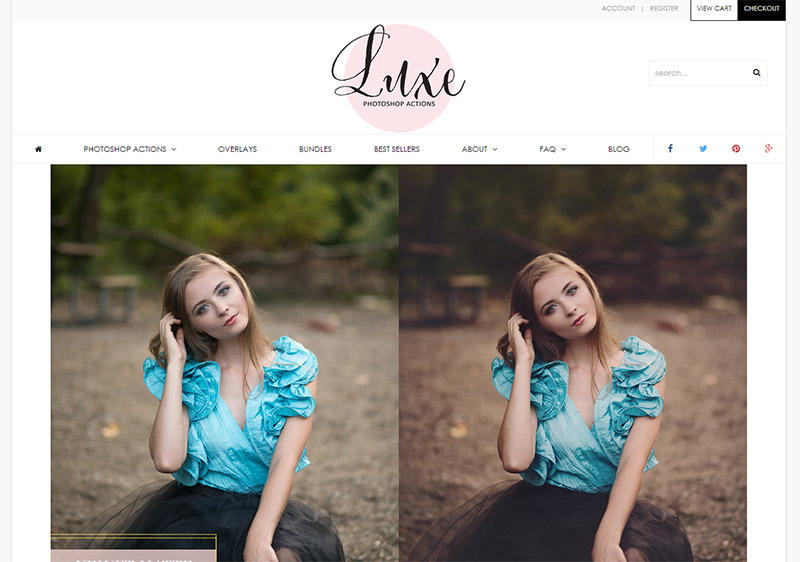Luxe Photoshop Actions