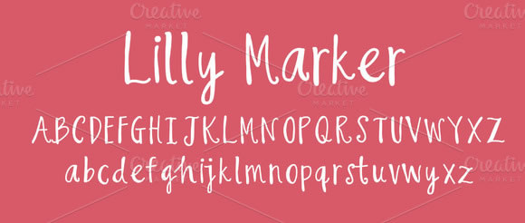 12 Hand Written Fonts for Designers