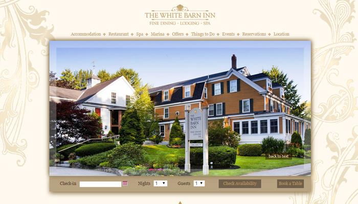 white barn inn hotel maine