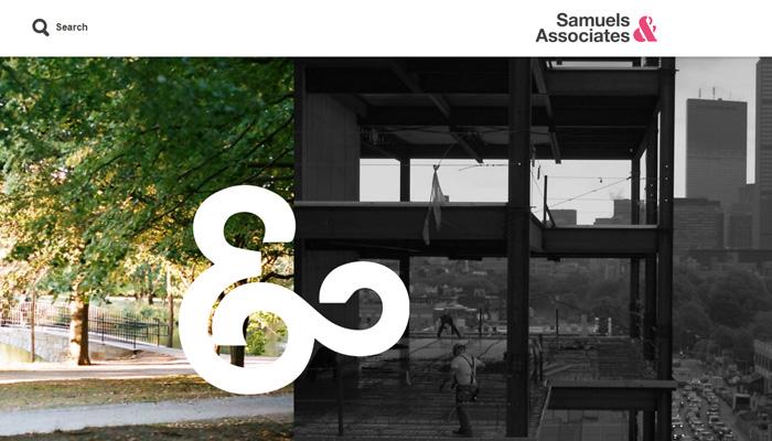 samuels associates website homepage