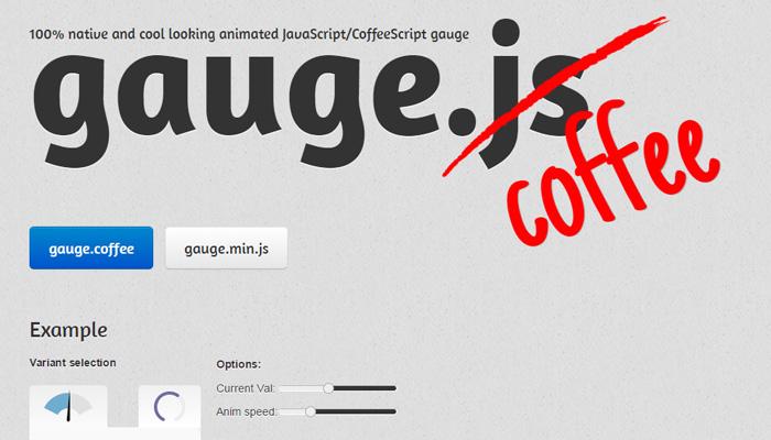 gauge js open source plugin