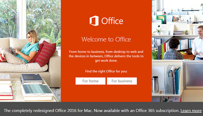 ms microsoft office homepage
