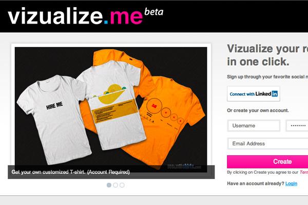 vizualize beta webapp online website layout