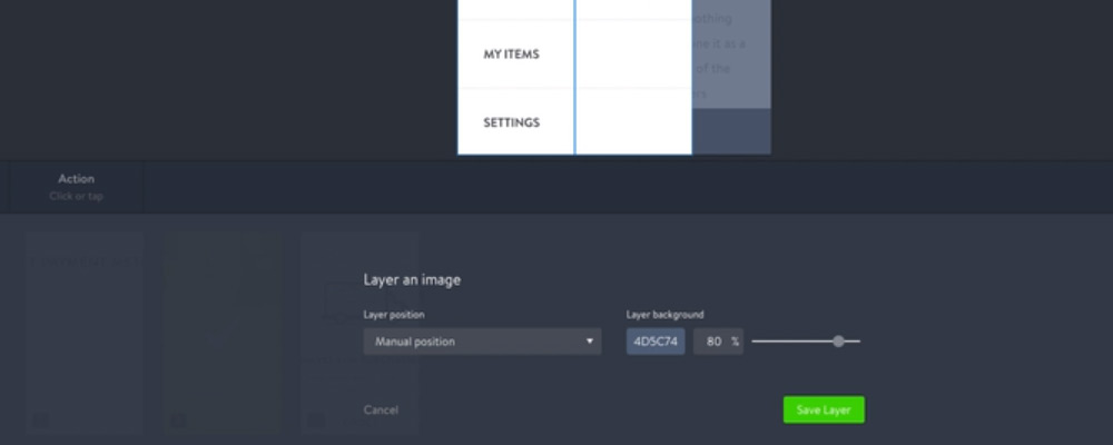 Layer for Marvel App