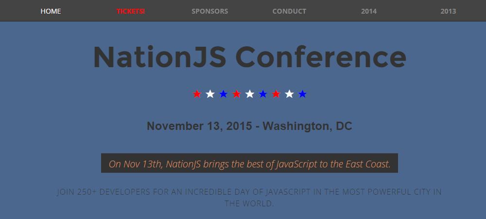 NationJS conference