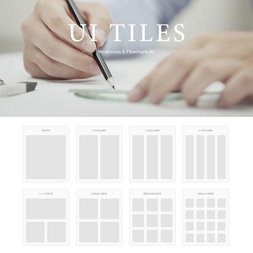UI Tiles, A Quick and Easy Kit to Layout Websites - Web Design Ledger