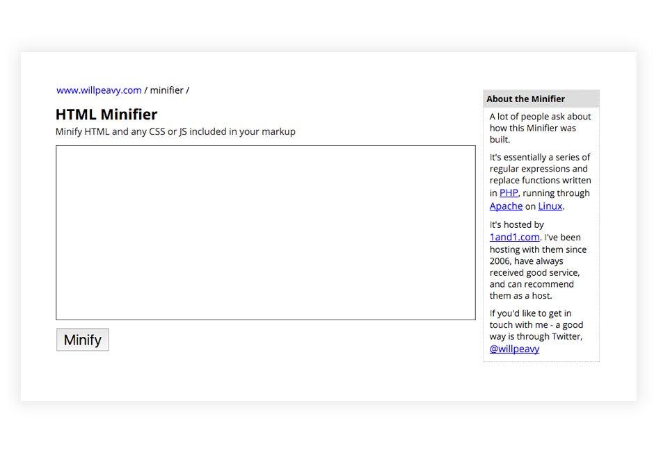 htmlminifier-google-pagespeed-score