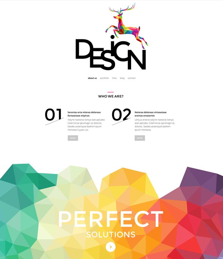 web-design-agency WordPress theme