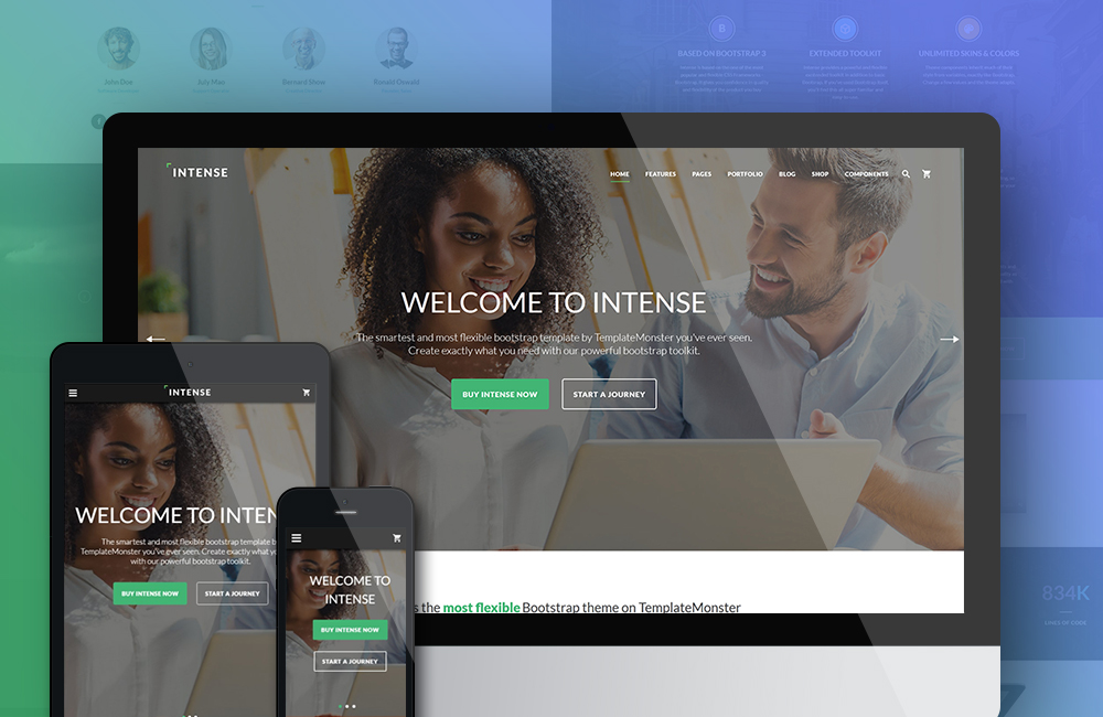 Top 20 Multipurpose Website Templates For 2016 Web Design Ledger