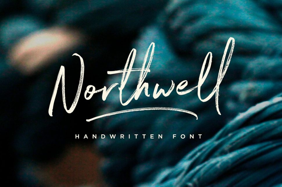Northwell – The Handwritten Font You Didn't Know You Needed FOTW#