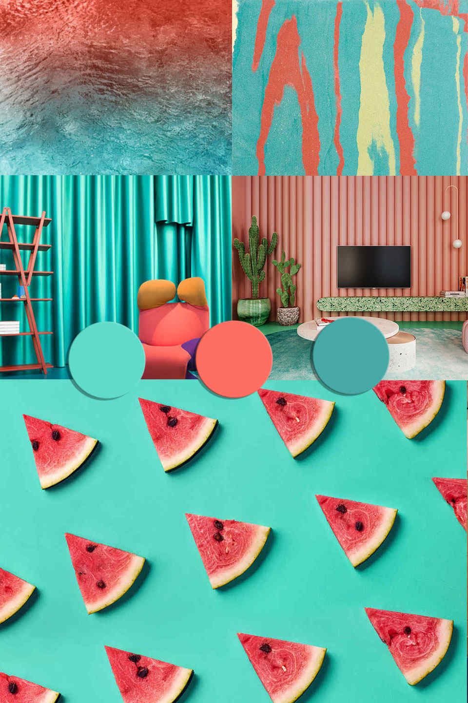 2b2a223c pantone2019 colortrends 2020 interiors coral turquoise