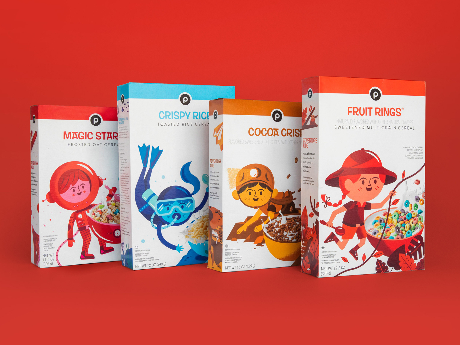 magic star snack packaging for kids
