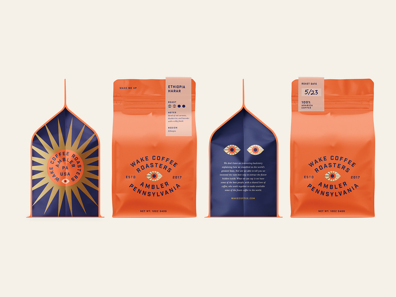 easy_on_the_eyes_coffee packaging desing