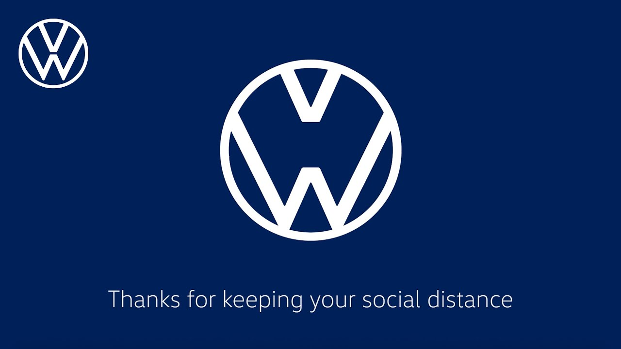 Check Out These Famous Logos Practicing Social Distancing - McDonald's, Mercedes, and More - Web Design Ledger