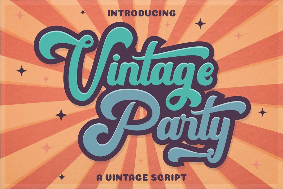 40 Of the best Free vintage Fonts picked by professional
