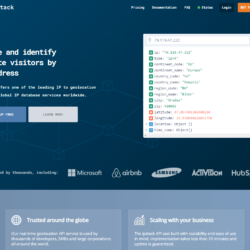 Best developer tools of 2020 ipstack home page