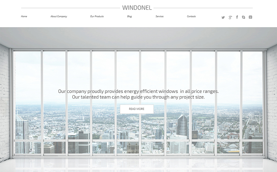 & Doors Responsive WordPress Theme