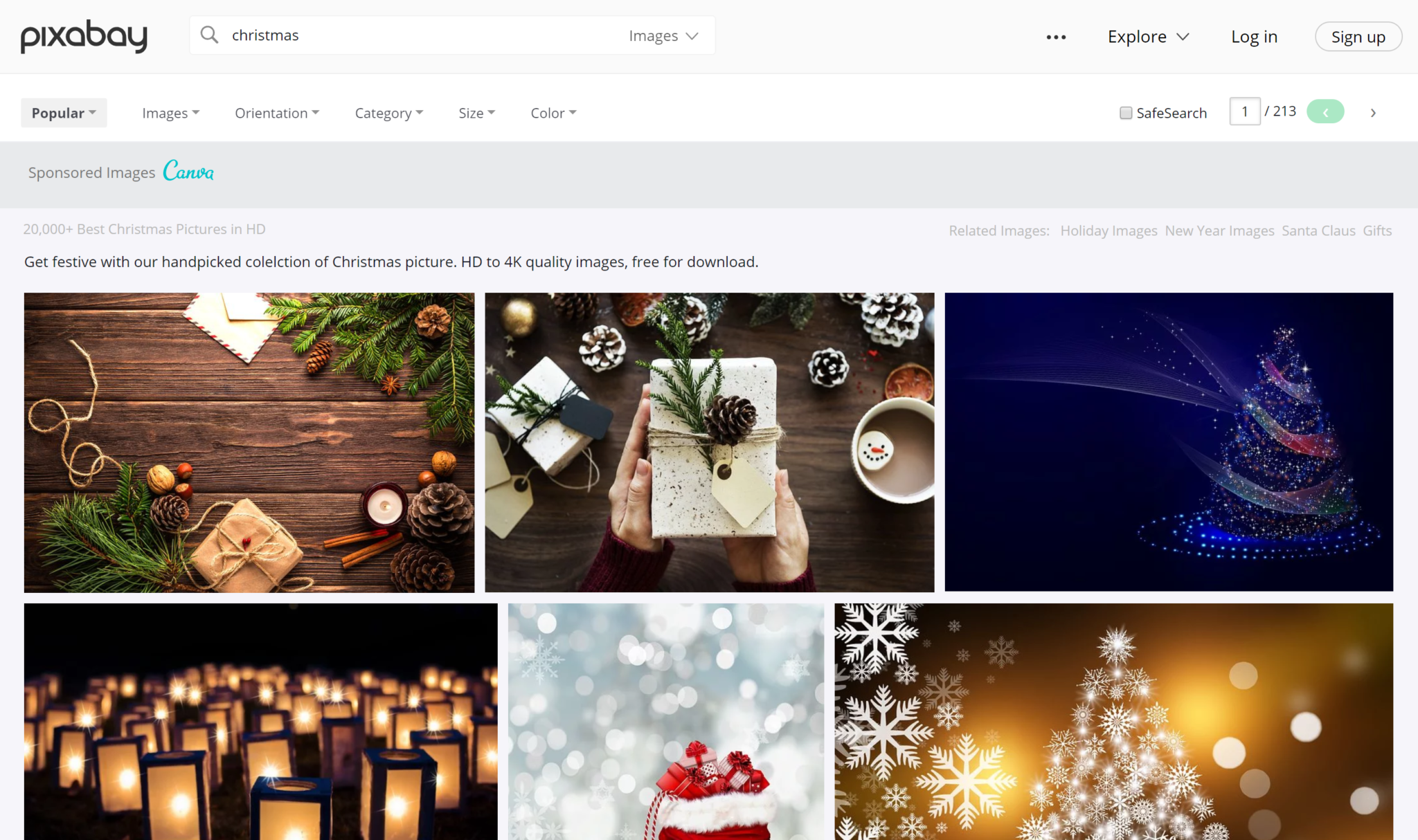 christmas stock images for free