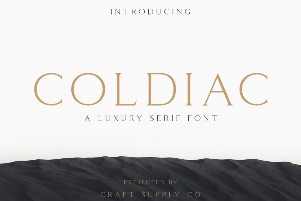 serif modern font