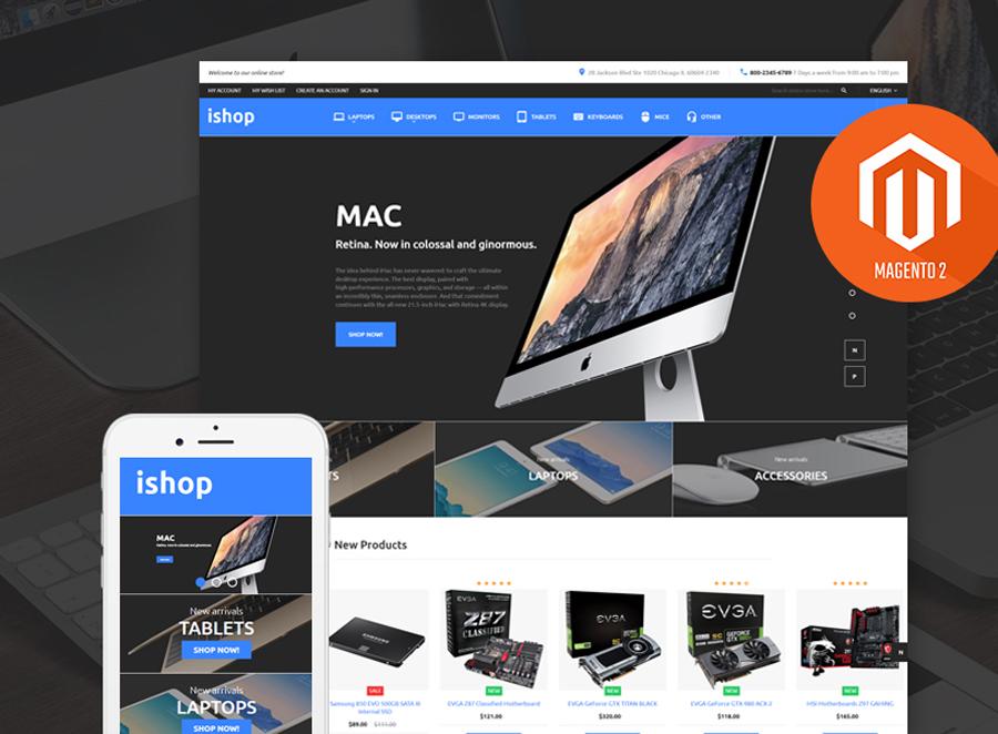 iShop - Electronic Magento 2 Theme