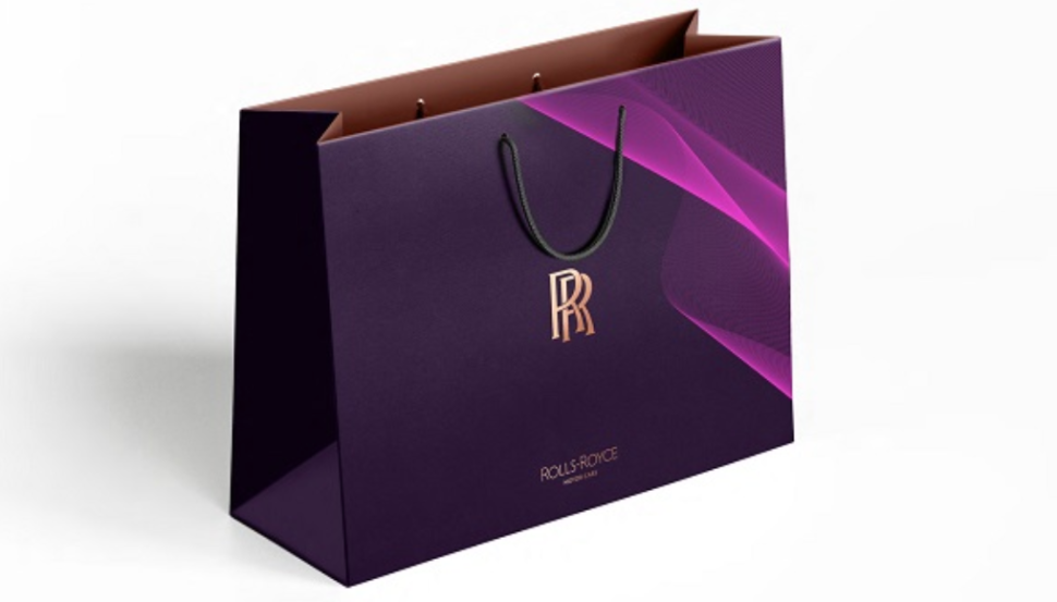 new color palette for rolls royce on shopping bag 2020