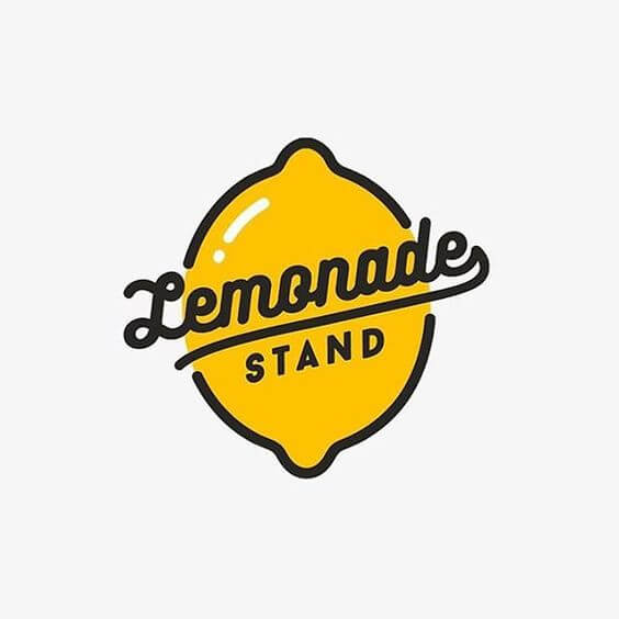 lemon logo lemonade stand