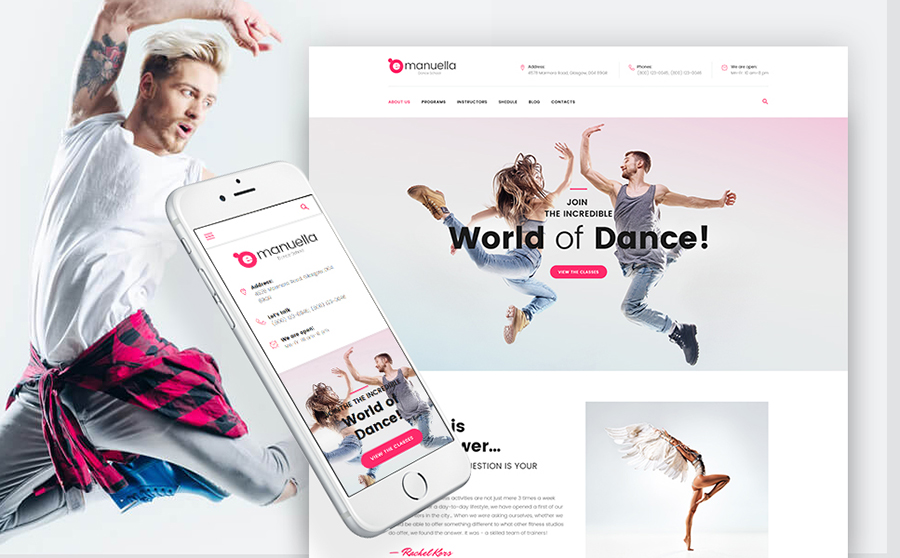 ademy WordPress Theme