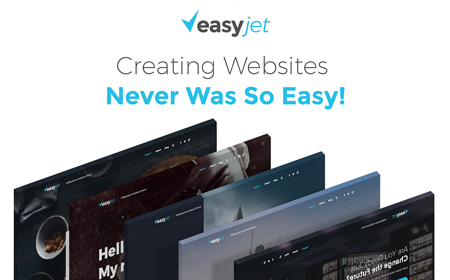 EasyJet - Multipurpose WordPress Theme