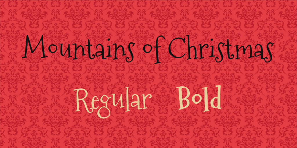 mountains-of-christmas-font-1-big