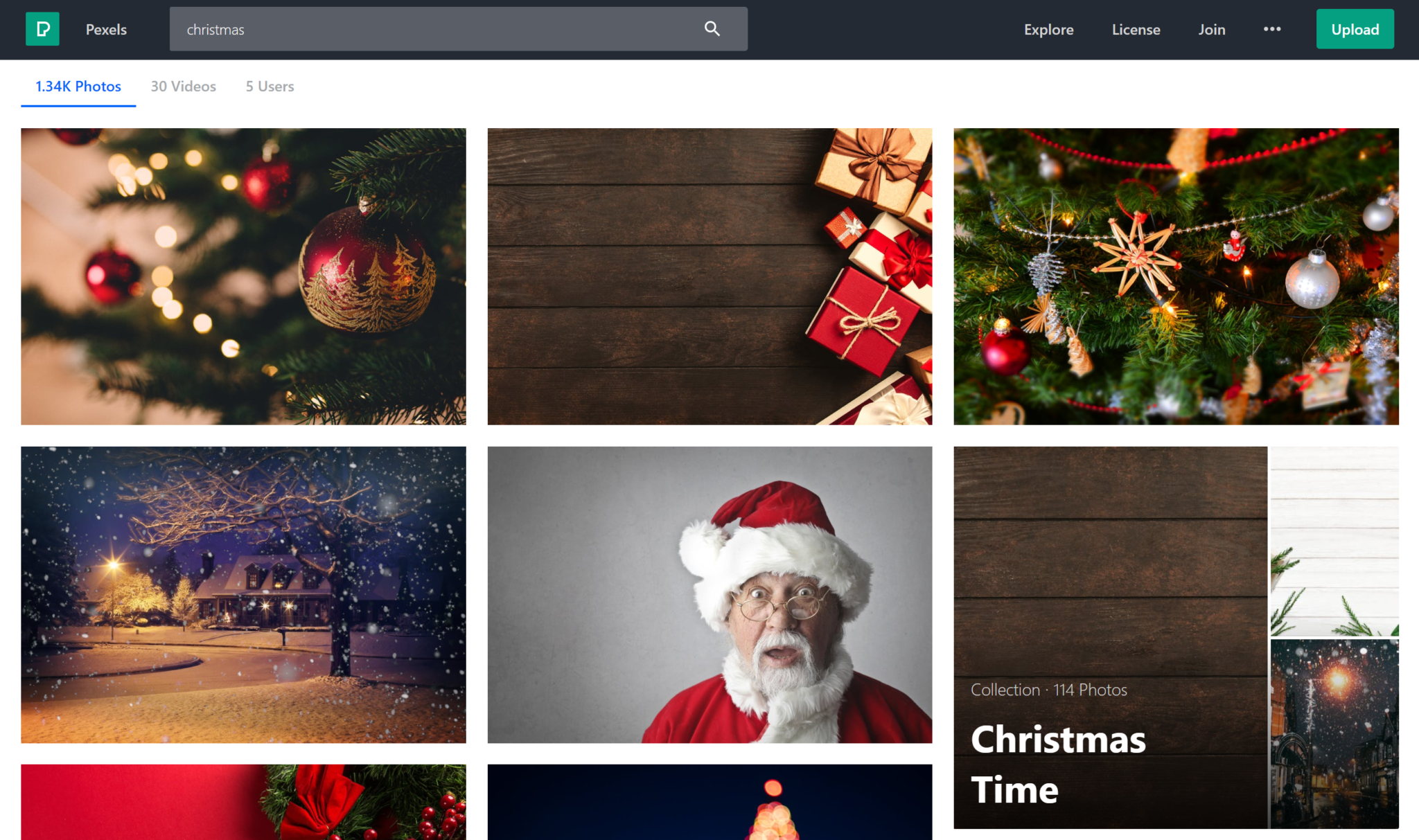 free christmas stock images